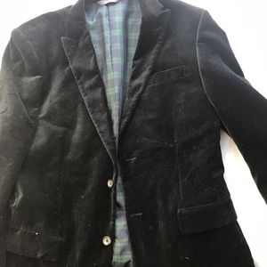 Men's black Merona blazer 40R